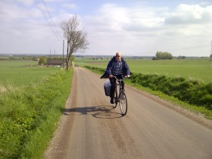 Carl-Gustav med fart i motvinden